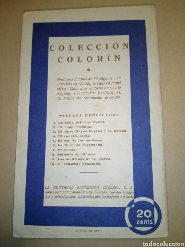 """Libros antiguos: Calleja Colección Colorín """"La florecilla encarnada"""". - Foto 2 - 224666395"""