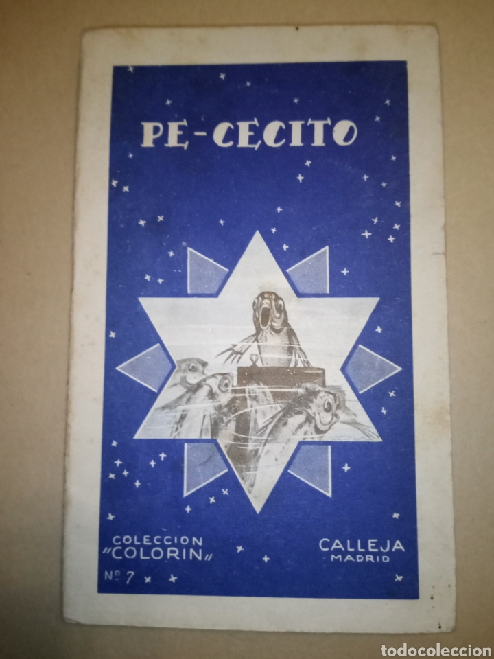 """CALLEJA COLECCIÓN COLORÍN """"PE-CECITO"""" 1935 (Libros Antiguos, Raros y Curiosos - Literatura Infantil y Juvenil - Otros)"""