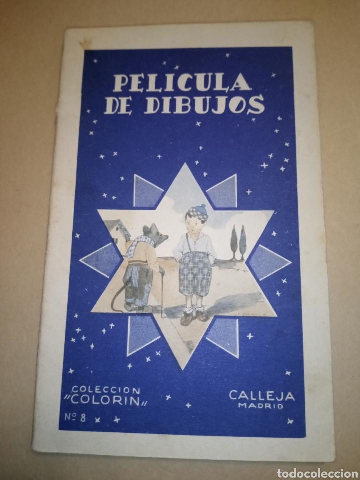 """CALLEJA COLECCIÓN COLORÍN """"PELÍCULA DE DIBUJOS"""" (Libros Antiguos, Raros y Curiosos - Literatura Infantil y Juvenil - Otros)"""