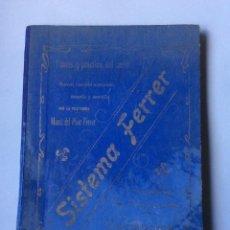 Libros antiguos: TEORIA Y PRACTICA DEL CORTE . NUEVO METODO SISTEMA FERRER, 1ª EDICIÓN Nº9. Lote 224700843