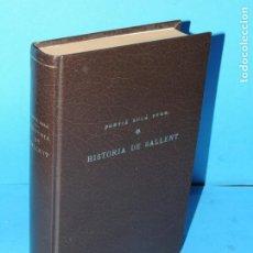 Libros antiguos: HISTORIA DE SALLENT.-FORTIÁ SOLÁ. PVRE.. Lote 224769062