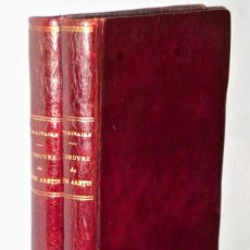Libros antiguos: L´OEUVRE DU DIVIN ARÉTIN. 2 TOMOS. Lote 224779517