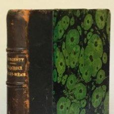 Livres anciens: EUGÈNE DELACROIX PAR LUI-MÊME. - DARGENTY, G.. Lote 224852907