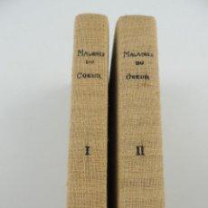 Livres anciens: DOS TOMOS TRAITE CLINIQUE DER MALDIES DU COEUR. Lote 224854487