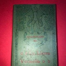 """Libros antiguos: NOVELA AMERICANA """"LA LLETRA VERMELLA"""" 1910. Lote 224889815"""