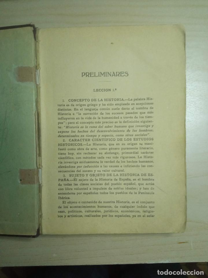 Libros antiguos: CURSO DE HISTORIA DE ESPAÑA - DR. V. SERRANO - 193? - Foto 2 - 224800795