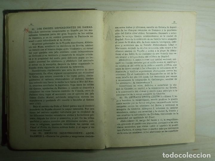 Libros antiguos: CURSO DE HISTORIA DE ESPAÑA - DR. V. SERRANO - 193? - Foto 4 - 224800795