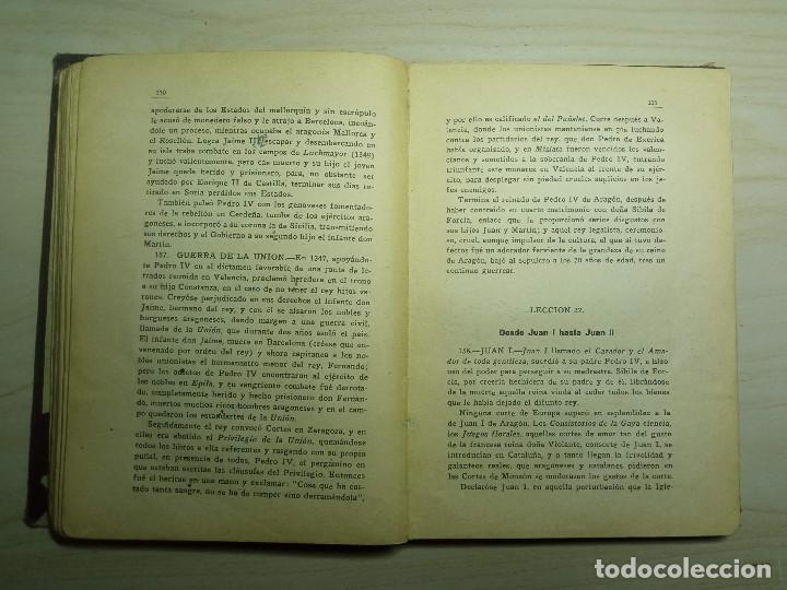 Libros antiguos: CURSO DE HISTORIA DE ESPAÑA - DR. V. SERRANO - 193? - Foto 6 - 224800795