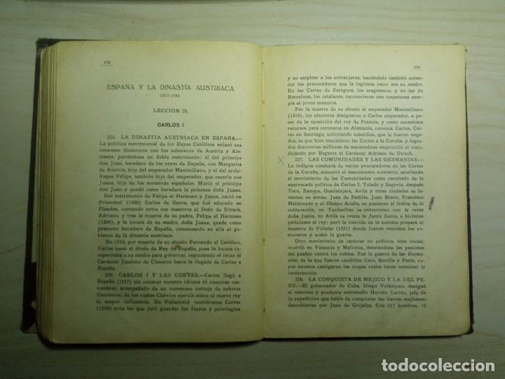 Libros antiguos: CURSO DE HISTORIA DE ESPAÑA - DR. V. SERRANO - 193? - Foto 7 - 224800795