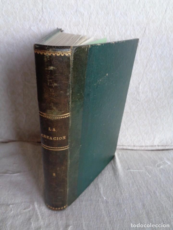 LA CREACIÓN. TOMO SEGUNDO - M. EDGAR QUINET. (Libros Antiguos, Raros y Curiosos - Pensamiento - Otros)
