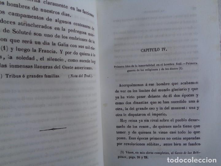 Libros antiguos: La creación. Tomo Segundo - M. Edgar Quinet. - Foto 4 - 224897181
