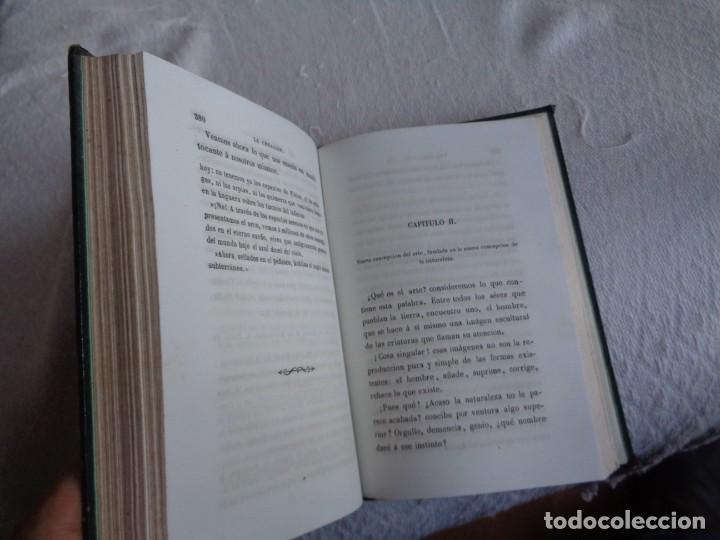 Libros antiguos: La creación. Tomo Segundo - M. Edgar Quinet. - Foto 12 - 224897181
