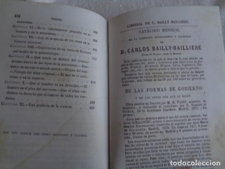 Libros antiguos: La creación. Tomo Segundo - M. Edgar Quinet. - Foto 19 - 224897181
