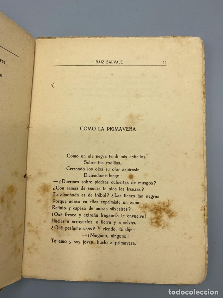 Libros antiguos: RAIZ SALVAJE. JUANA DE IBARBOUROU. MAXIMINO GARCIA EDITOR. MONTEVIDEO, 1924. PAGS: 102 - Foto 5 - 225001790