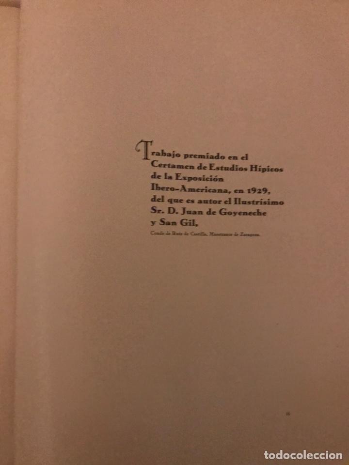 Libros antiguos: Recopilación de estudios de cría caballar por el marqués de Negrón y equitacion hipica caballos - Foto 7 - 112132702