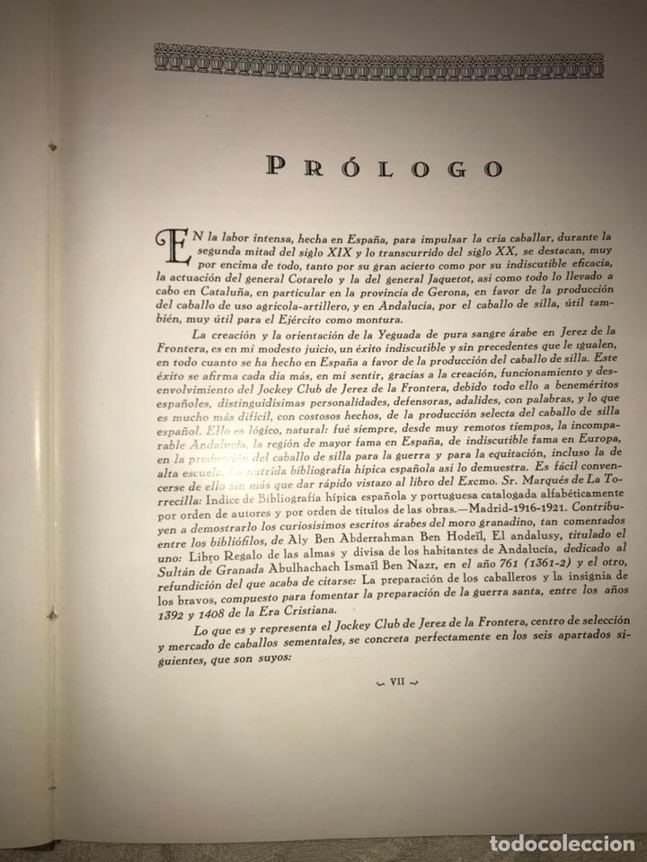 Libros antiguos: Recopilación de estudios de cría caballar por el marqués de Negrón y equitacion hipica caballos - Foto 13 - 112132702