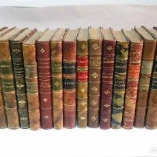 Livres anciens: 1920 - LOTE DE 20 NOVELAS FRANCESAS DE LOS AÑOS 20 CON BELLAS ENCUADERNACIONES. Lote 225510937
