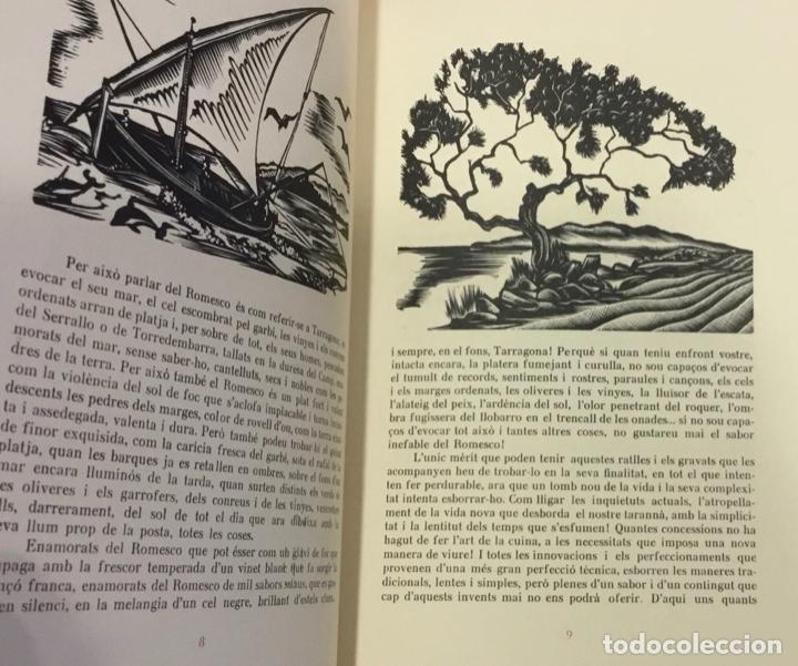 Libros antiguos: LLIBRE DELS ROMESCOS. - GELABERT, Antoni. GRABADOS - XILOGRAFÍAS - COCINA - Foto 2 - 225743520
