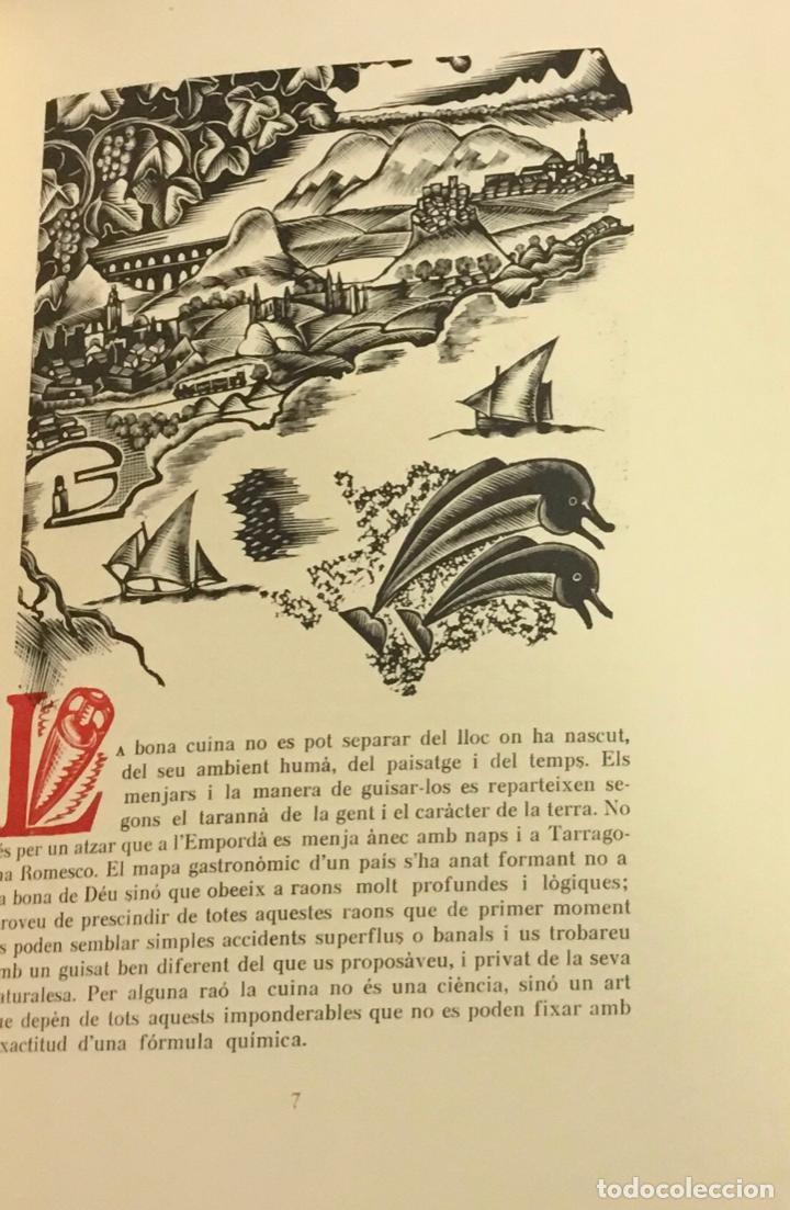 Libros antiguos: LLIBRE DELS ROMESCOS. - GELABERT, Antoni. GRABADOS - XILOGRAFÍAS - COCINA - Foto 3 - 225743520