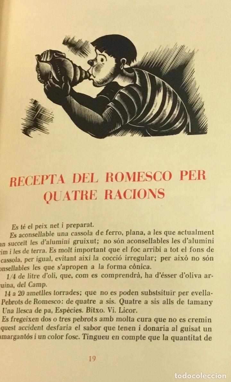 Libros antiguos: LLIBRE DELS ROMESCOS. - GELABERT, Antoni. GRABADOS - XILOGRAFÍAS - COCINA - Foto 4 - 225743520