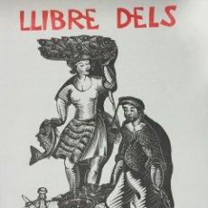 Libros antiguos: LLIBRE DELS ROMESCOS. - GELABERT, ANTONI. GRABADOS - XILOGRAFÍAS - COCINA. Lote 225743520