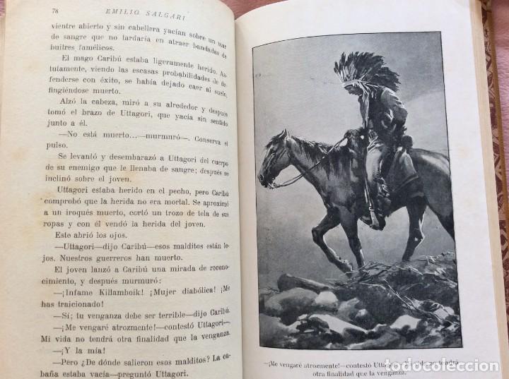 EL DESOLLADOR UTTAGORI, 1932, EMILIO SALGARI. 1.ª EDICIÓN. EXCELENTE PRECIO DE SALIDA. (Libros Antiguos, Raros y Curiosos - Literatura Infantil y Juvenil - Otros)