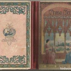 Libros antiguos: PROSA I VERS M MARINEL - LO LECTURAS MORALS CIVIQUES NOIS I NOIES DIBUIXOS S. LLOBET 1932. Lote 226090458