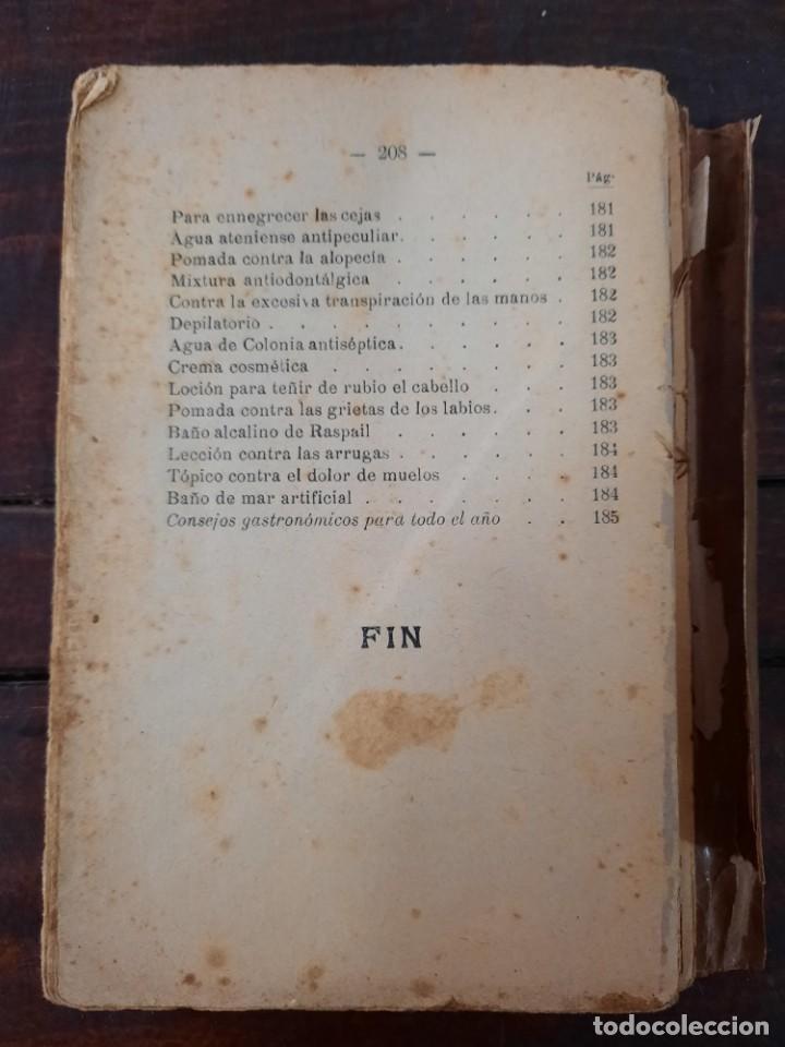 Libros antiguos: EL COCINERO UNIVERSAL O ARTE DE GUISAR AL ESTILO MODERNO - A. DE NAIT - MAUCCI, 1906, 5ª ED., BCN - Foto 3 - 240735670