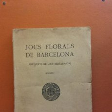 Libri antichi: JOCHS FLORALS DE BARCELONA. ANY LXXVII DE LLUR RESTAURACIÓ,1935. BARCELONA. ESTAMPA LA RENAXENSA. Lote 226230275