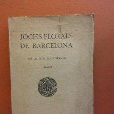 Libri antichi: JOCHS FLORALS DE BARCELONA. ANY LIX DE LLUR RESTAURACIÓ, 1917. BARCELONA. ESTAMPA LA RENAXENSA. Lote 226231125