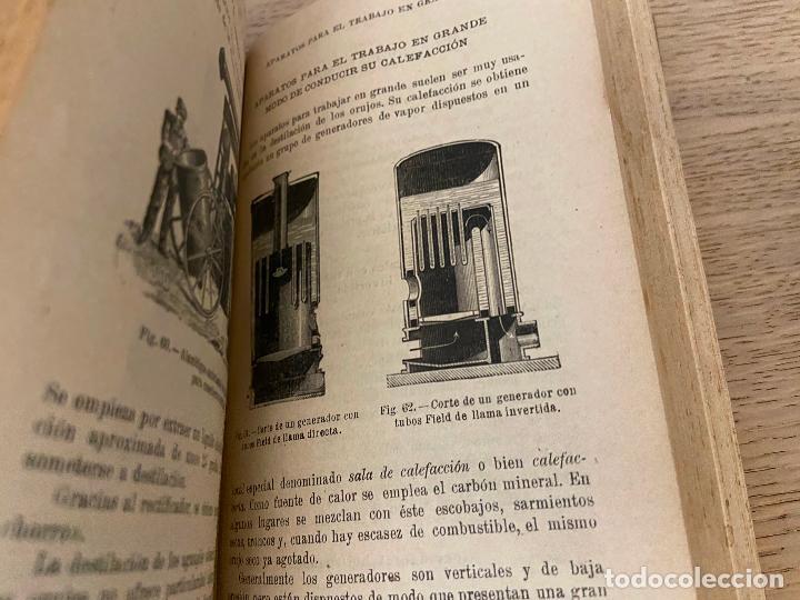 Libros antiguos: PACOTTET - GUITTONNEAU 1922 - AGUARDIENTES Y VINAGRES - - Foto 4 - 226442525