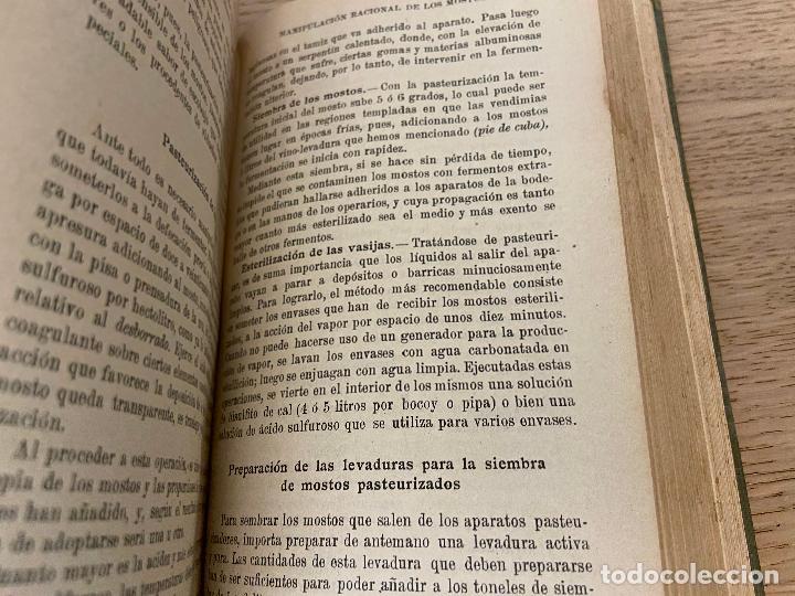 Libros antiguos: PACOTTET - GUITTONNEAU 1922 - AGUARDIENTES Y VINAGRES - - Foto 6 - 226442525