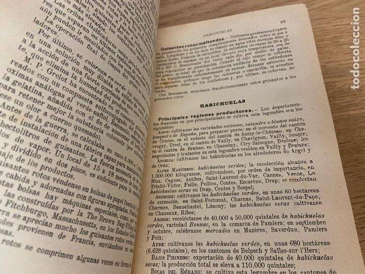 Libros antiguos: LAS CONSERVAS DE LEGUMBRES - ANTONIO ROLET - 1923 - Foto 6 - 226443265