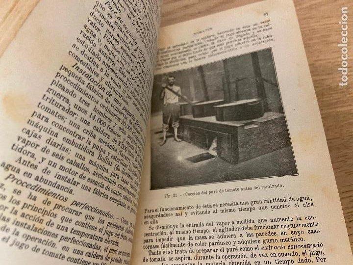 Libros antiguos: LAS CONSERVAS DE LEGUMBRES - ANTONIO ROLET - 1923 - Foto 7 - 226443265