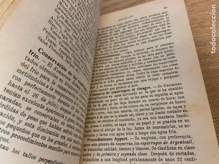 Libros antiguos: LAS CONSERVAS DE LEGUMBRES - ANTONIO ROLET - 1923 - Foto 10 - 226443265