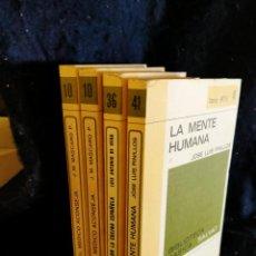 Libros antiguos: EL MÉDICO ACONSEJA. LA MENTE HUMANA. VIAJE POR LA COCINA ESPAÑOLA. LB9. Lote 226448160