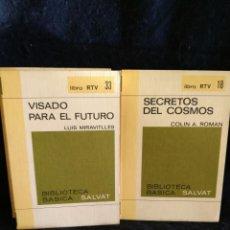 Libros antiguos: VISADO PARA EL FUTURO. SECRETOS DEL COSMOS.. LB9. Lote 226455310