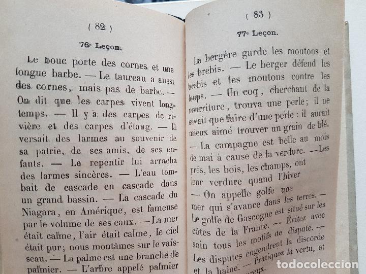 Libros antiguos: SILABARIO ANTIGUO FRANCES LIBRAIRIE DELALAIN PARIS POR G. BELEZE - Foto 4 - 226650994