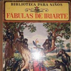 Libros antiguos: FÁBULAS DE IRIARTE. Lote 227069965