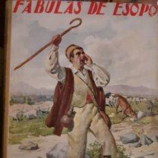 Libros antiguos: FÁBULAS DE ESOPO. Lote 227072620
