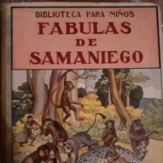 Libros antiguos: FÁBULAS DE SAMANIEGO. Lote 227074900