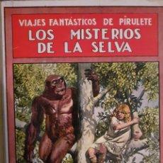 Libros antiguos: LOS MISTERIOS DE LA SELVA. Lote 227246584
