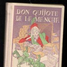Libros antiguos: DON QUIJOTE DE LA MANCHA. HIJOS DE SANTIAGO RODRÍGUEZ, 1937.. Lote 227702391