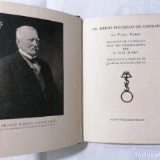 Libros antiguos: LE PRINCE ROMAN POR JOSEPH CONRAD, AÑO 1933. Lote 227768375