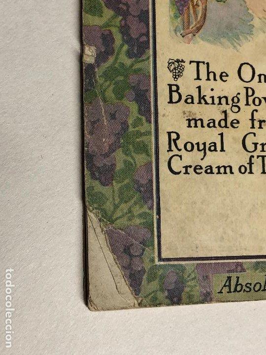 Libros antiguos: Libro de cocina. Royal Baker and Pastry Cook. Copyright 1911. New York, USA - Foto 5 - 227782395