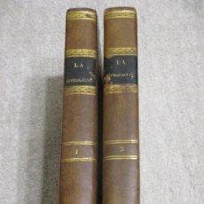 Libros antiguos: LA CIVILIZACIÓN, REVISTA RELIGIOSA, FILOSÓFICA POLÍTICA Y LITERARIA DE BARCELONA TOMOS 1 Y 2 1841-42. Lote 227796770