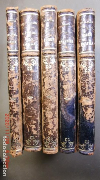 LOT DE 5 LLIBRES-ANYS 30 - (Libros Antiguos, Raros y Curiosos - Literatura - Otros)