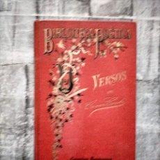 Libros antiguos: CONTO CÉSAR VERSOS PRIMERA EDICION.- PARIS: GARNIER HNOS., 1891.. Lote 228158870