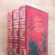 Livres anciens: HISTORIA GENERAL DE LA AGRICULTURA; ESTUDIO TEÓRICO Y PRÁCTICO...FIGUIER, L. [C.1890]. Lote 228306710