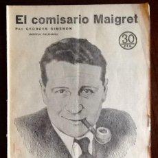 Libros antiguos: GEORGES SIMENON. - EL COMISARIO MAIGRET - -EL ENVIO ESTA INCLUIDO.. Lote 228327750